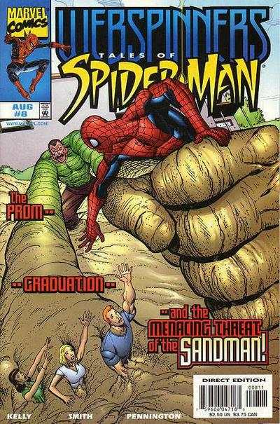 Webspinners: Tales of Spider-Man #8 comic books for sale