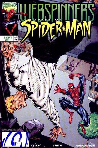 Webspinners: Tales of Spider-Man #9 Comic Books - Covers, Scans, Photos  in Webspinners: Tales of Spider-Man Comic Books - Covers, Scans, Gallery
