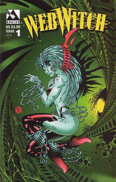 Webwitch #1 Comic Books - Covers, Scans, Photos  in Webwitch Comic Books - Covers, Scans, Gallery