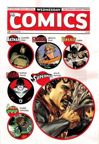 Wednesday Comics comic books