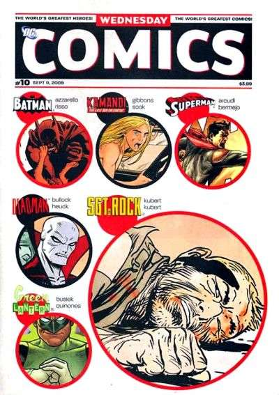 Wednesday Comics #10 comic books - cover scans photos Wednesday Comics #10 comic books - covers, picture gallery