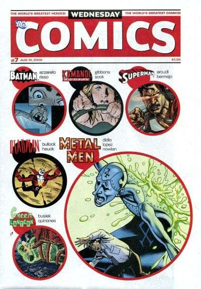Wednesday Comics #7 comic books - cover scans photos Wednesday Comics #7 comic books - covers, picture gallery
