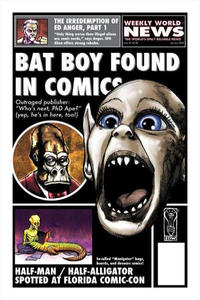Weekly World News comic books