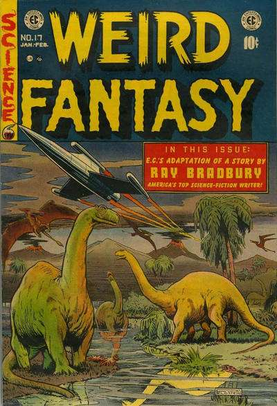 Weird Fantasy #17 Comic Books - Covers, Scans, Photos  in Weird Fantasy Comic Books - Covers, Scans, Gallery