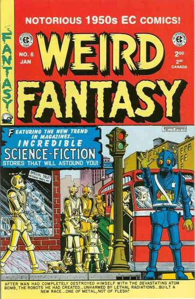 Weird Fantasy #6 Comic Books - Covers, Scans, Photos  in Weird Fantasy Comic Books - Covers, Scans, Gallery