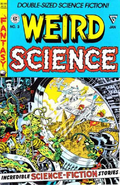 Weird Science #3 Comic Books - Covers, Scans, Photos  in Weird Science Comic Books - Covers, Scans, Gallery