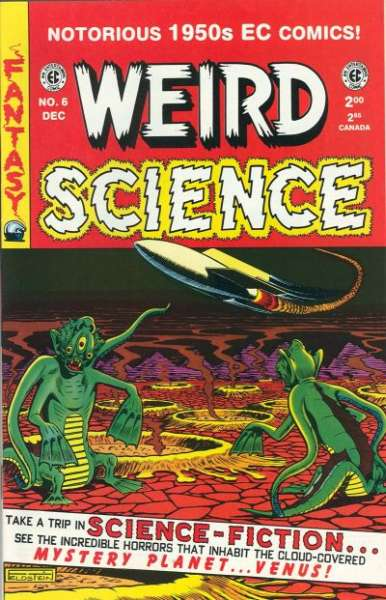 Weird Science #6 Comic Books - Covers, Scans, Photos  in Weird Science Comic Books - Covers, Scans, Gallery