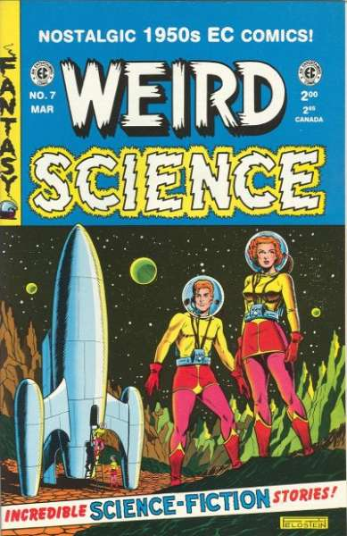 Weird Science #7 Comic Books - Covers, Scans, Photos  in Weird Science Comic Books - Covers, Scans, Gallery