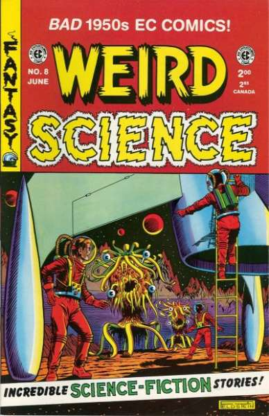 Weird Science #8 Comic Books - Covers, Scans, Photos  in Weird Science Comic Books - Covers, Scans, Gallery