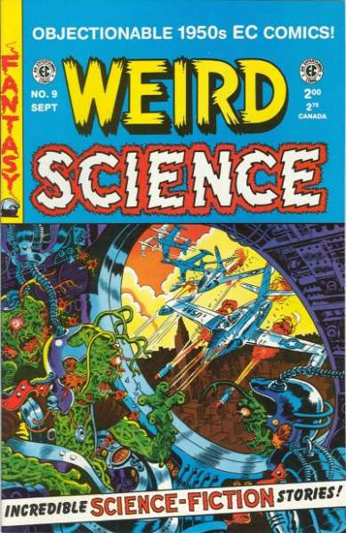 Weird Science #9 Comic Books - Covers, Scans, Photos  in Weird Science Comic Books - Covers, Scans, Gallery
