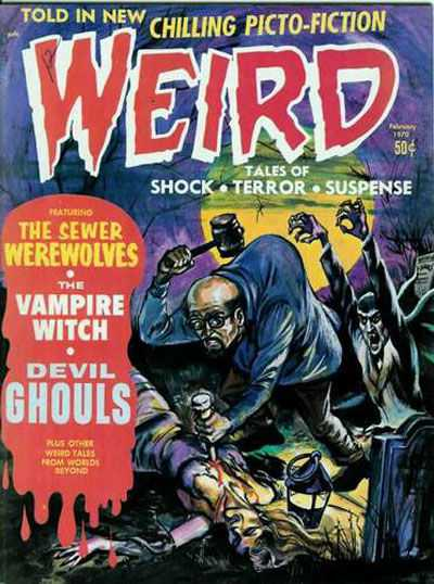 Weird: Volume 4 comic books