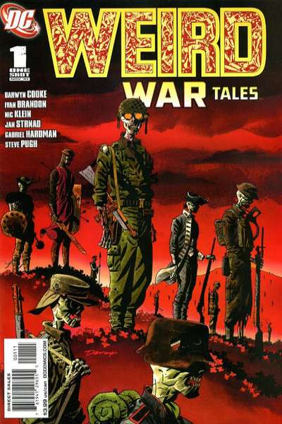 Weird War Tales comic books