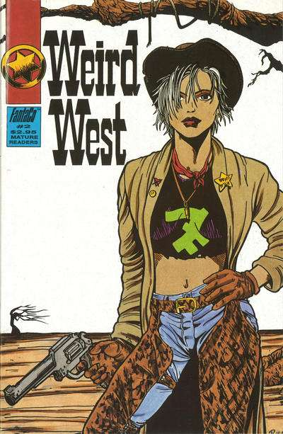 Weird West #2 Comic Books - Covers, Scans, Photos  in Weird West Comic Books - Covers, Scans, Gallery