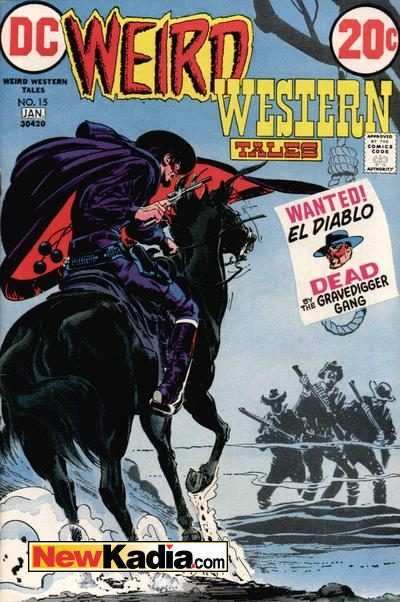 Weird Western Tales #15 comic books for sale