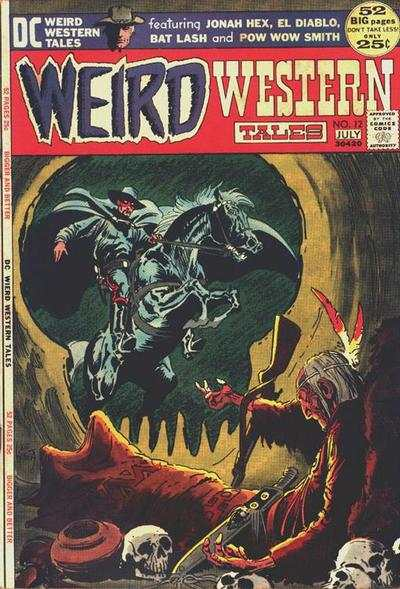 Weird Western Tales Comic Books. Weird Western Tales Comics.