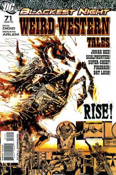 Weird Western Tales #71 comic books for sale