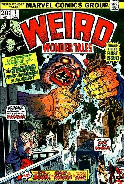 Weird Wonder Tales comic books