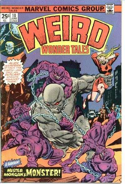Weird Wonder Tales #10 comic books for sale