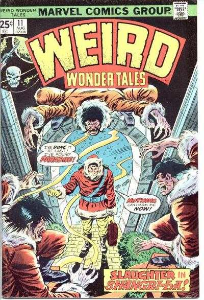 Weird Wonder Tales #11 Comic Books - Covers, Scans, Photos  in Weird Wonder Tales Comic Books - Covers, Scans, Gallery