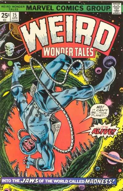 Weird Wonder Tales #15 comic books for sale