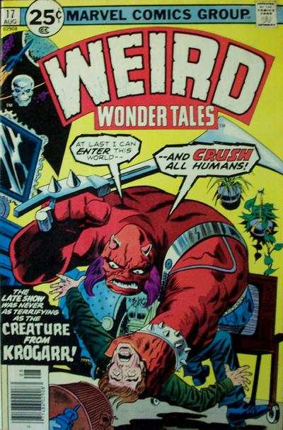 Weird Wonder Tales #17 Comic Books - Covers, Scans, Photos  in Weird Wonder Tales Comic Books - Covers, Scans, Gallery