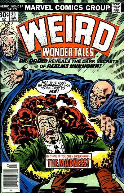 Weird Wonder Tales #20 comic books - cover scans photos Weird Wonder Tales #20 comic books - covers, picture gallery