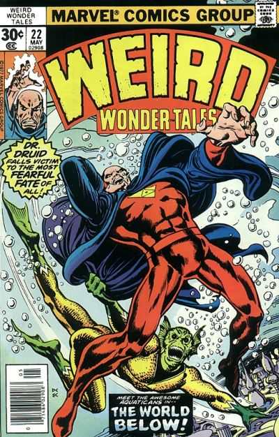 Weird Wonder Tales #22 comic books - cover scans photos Weird Wonder Tales #22 comic books - covers, picture gallery