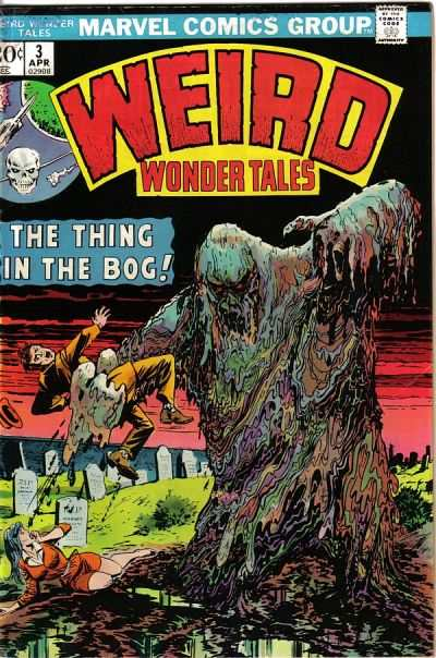 Weird Wonder Tales #3 comic books for sale
