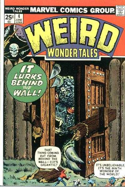 Weird Wonder Tales #4 Comic Books - Covers, Scans, Photos  in Weird Wonder Tales Comic Books - Covers, Scans, Gallery