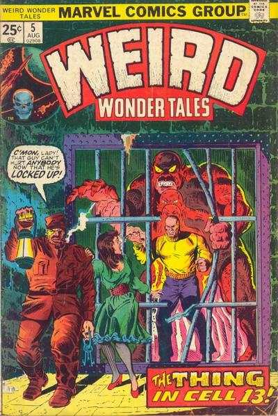 Weird Wonder Tales #5 comic books for sale