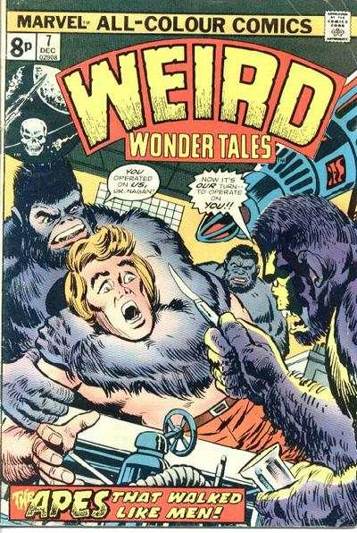 Weird Wonder Tales #7 Comic Books - Covers, Scans, Photos  in Weird Wonder Tales Comic Books - Covers, Scans, Gallery