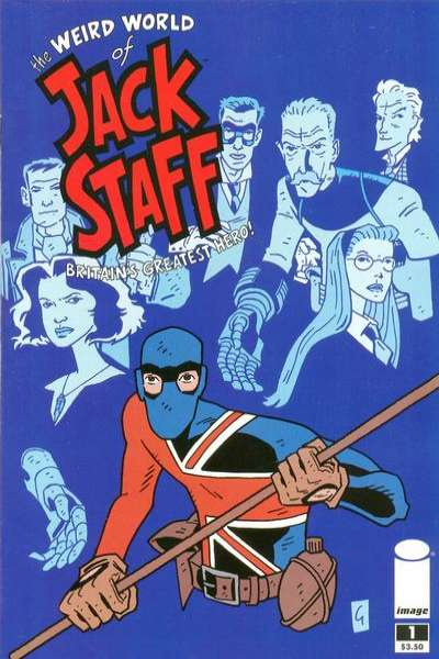 Weird World of Jack Staff comic books