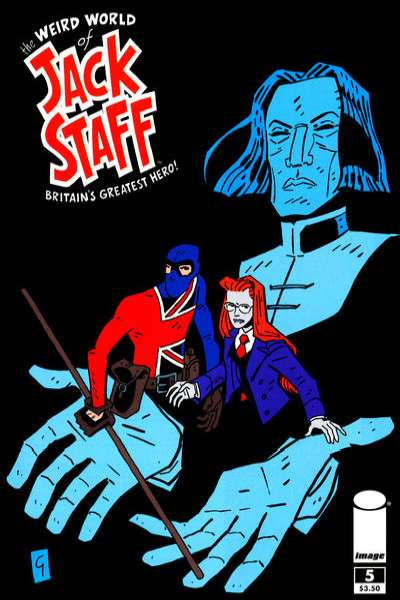 Weird World of Jack Staff #5 comic books for sale