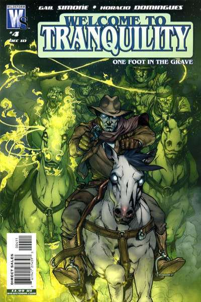 Welcome to Tranquility: One Foot in the Grave #4 comic books for sale