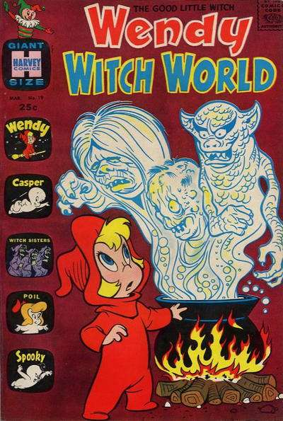 Wendy Witch World #19 comic books - cover scans photos Wendy Witch World #19 comic books - covers, picture gallery