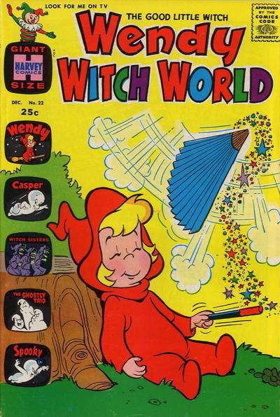 Wendy Witch World #22 Comic Books - Covers, Scans, Photos  in Wendy Witch World Comic Books - Covers, Scans, Gallery