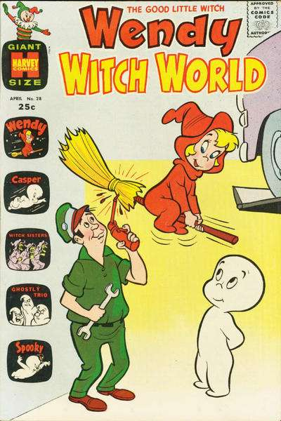 Wendy Witch World #28 comic books - cover scans photos Wendy Witch World #28 comic books - covers, picture gallery
