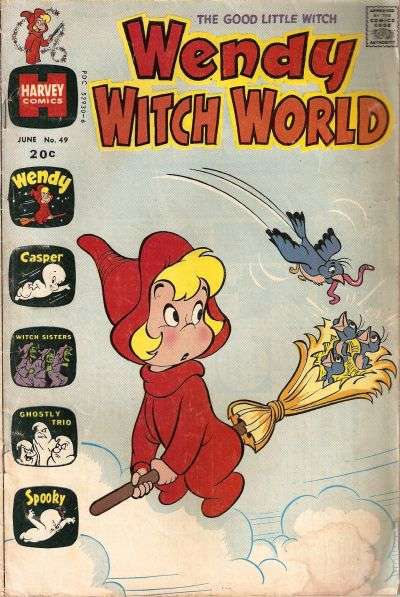 Wendy Witch World #49 comic books for sale