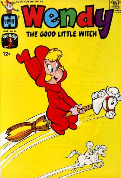 Wendy the Good Little Witch #30 Comic Books - Covers, Scans, Photos  in Wendy the Good Little Witch Comic Books - Covers, Scans, Gallery