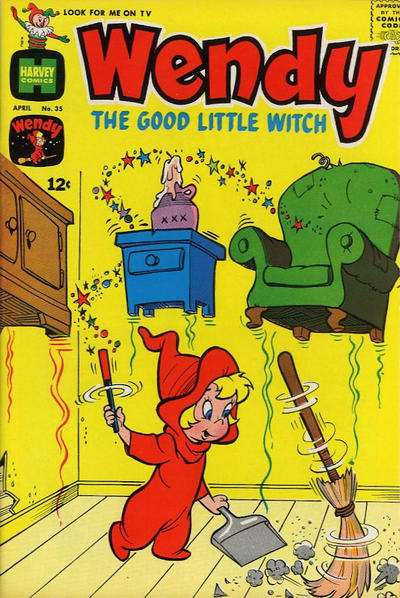 Wendy the Good Little Witch #35 comic books - cover scans photos Wendy the Good Little Witch #35 comic books - covers, picture gallery