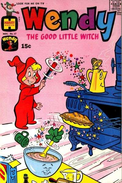 Wendy the Good Little Witch #57 comic books - cover scans photos Wendy the Good Little Witch #57 comic books - covers, picture gallery