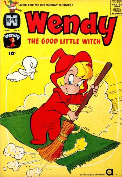 Wendy the Good Little Witch #6 Comic Books - Covers, Scans, Photos  in Wendy the Good Little Witch Comic Books - Covers, Scans, Gallery