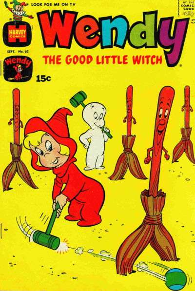 Wendy the Good Little Witch #62 comic books - cover scans photos Wendy the Good Little Witch #62 comic books - covers, picture gallery