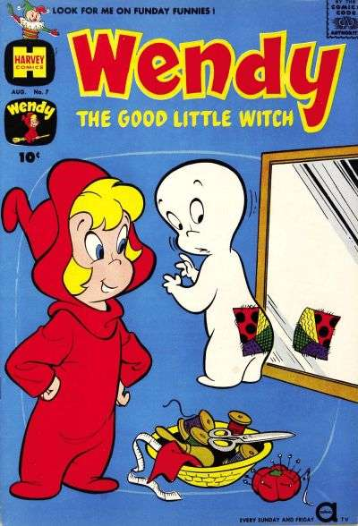 Wendy the Good Little Witch #7 Comic Books - Covers, Scans, Photos  in Wendy the Good Little Witch Comic Books - Covers, Scans, Gallery