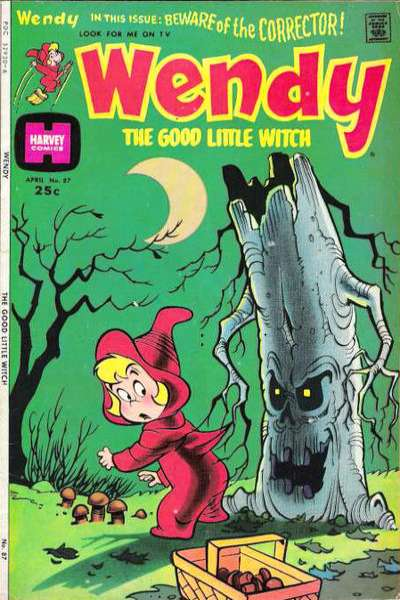 Wendy the Good Little Witch #8 Comic Books - Covers, Scans, Photos  in Wendy the Good Little Witch Comic Books - Covers, Scans, Gallery