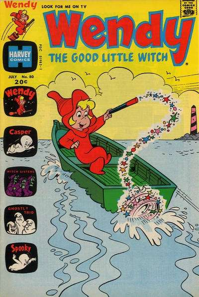Wendy the Good Little Witch #80 comic books for sale