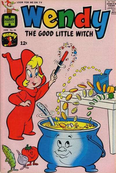 Wendy the Good Little Witch #36 comic books - cover scans photos Wendy the Good Little Witch #36 comic books - covers, picture gallery
