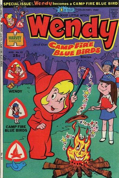 Wendy the Good Little Witch #83 comic books - cover scans photos Wendy the Good Little Witch #83 comic books - covers, picture gallery