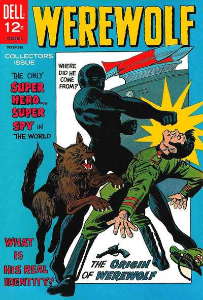 Werewolf comic books