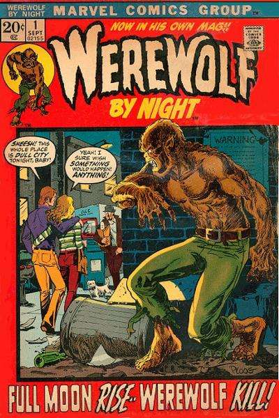 Werewolf by Night comic books